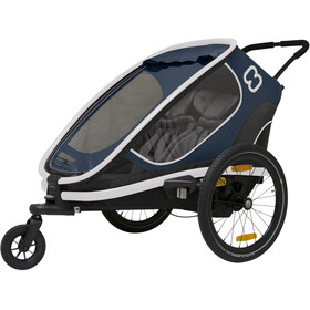Hamax Outback Rimorchio bici, navy